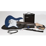 Yamaha GIGMAKEREG-BLE GigMaker electric guitar package Metallic Dark Blue