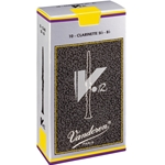 Vandoren Bb Clarinet Reeds V12, Box of 10