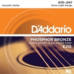 D'Addario EJ15 Acoustic Extra Light Strings