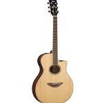 Yamaha APX600NA Acoustic Electric Guitar, Natural Thin-line