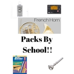 French Horn Acessory Pack Middle School