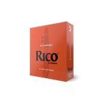 Rico Bb Clarinet Reeds, Box of 10