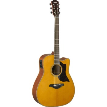 Yamaha A1MHC Folk Cutaway Acoustic-Electric Guitar
