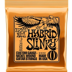 Ernie Ball EB2222 Hybrid Slinky Electric Strings