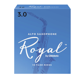 Rico Royal Alto Sax Reeds, Box of 10