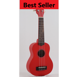 BEST SELLER! Soprano Ukulele Red